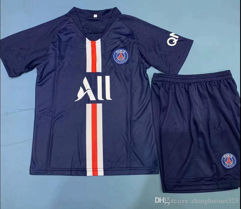 timeless design e21b0 d41db new 2019 2020 Thai quality PSG kit adult edition soccer jersey MBAPPE  CAVANI top thailand 19 20 paris football shirt KIMPEMBE Rugby suit