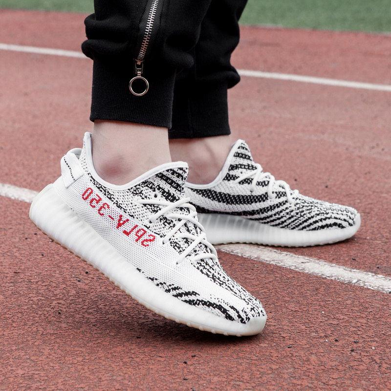 New Yeezy Boost 350 V2 Hot Sale Men Women Sneakers Trainers Designer Luxury  Loafers Chaussures Casual Classic Shoes High Fashion Black Shoes Wholesale  Shoes ... 9d3708d8a9e5