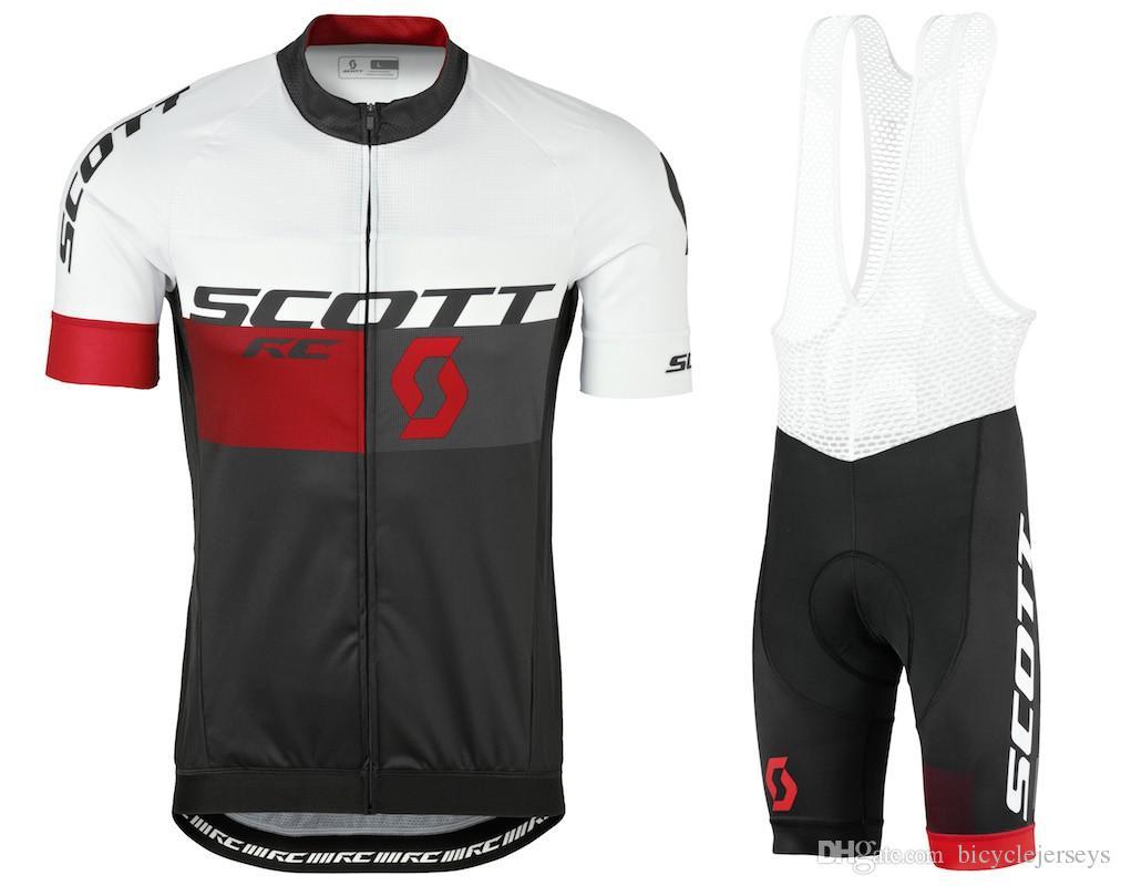 2018 Scott Bike Clothes Short Sleeve Cycling Wear For Men MTB Road Cycling  Jersey Set 9D Gel Pad Short Sleeve Breathable Cycling Jerseys Bike Jerseys  Cycle ... c7cdfb79e