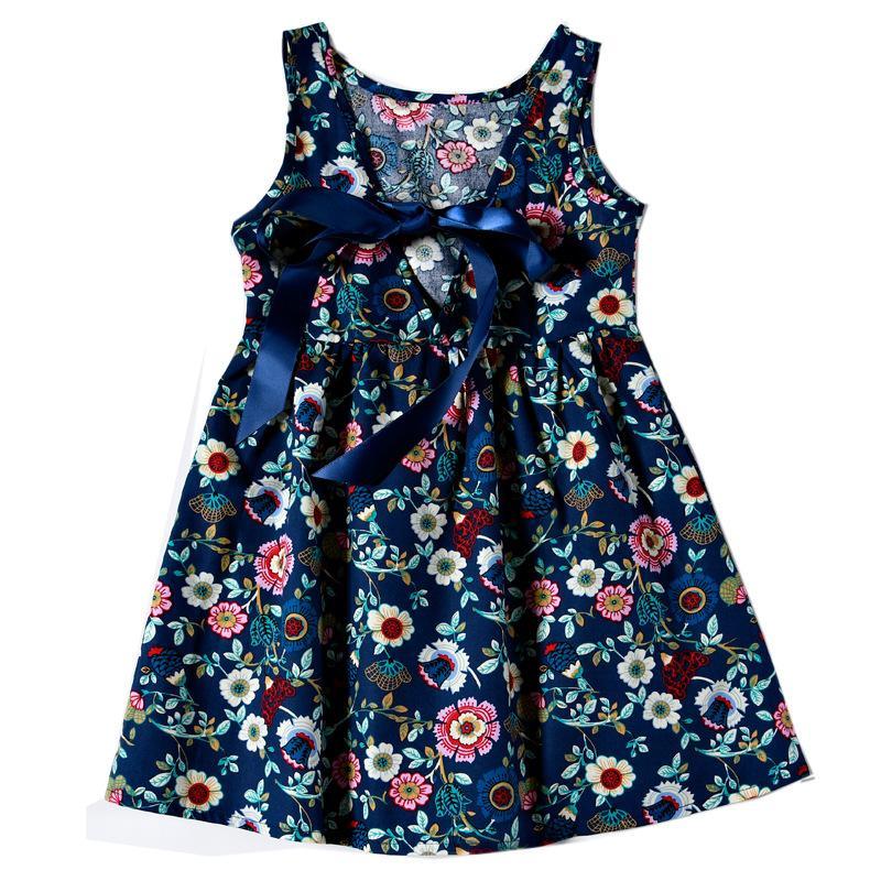 2ada8fcfdd94d Acheter Princesse D été Vêtements De Filles Pour Bébés Nouveau Né Enfant Bébés  Filles Sweet Robe Florale Robe De Fête De Noël Robes De  39.89 Du  Wonderfulss ...