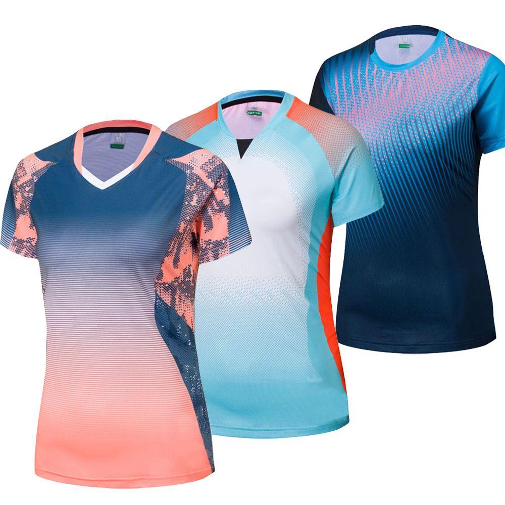 Secado De Tenis Deportiva MujerCamiseta MesaGimnasia 2019 Camisetas Bádminton Para Rápido Nuevas cl1TFJK