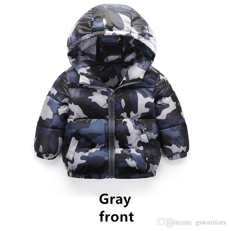 Children's cotton coat, new camouflage light cotton coat, boy's cotton jacket, baby girl winter jacket, warm jacket.