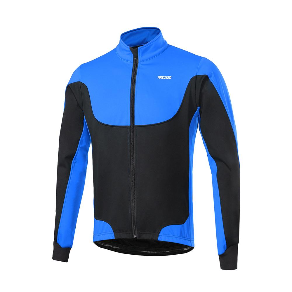 Arsuxeo Men S Cycling Jackets Windproof Thermal Fleece Lined Winter Cycling  Jacket Outdoor Sport Coat Riding Long Sleeve Jersey Cheap Cycling Clothing  ... 4bd3d0e21