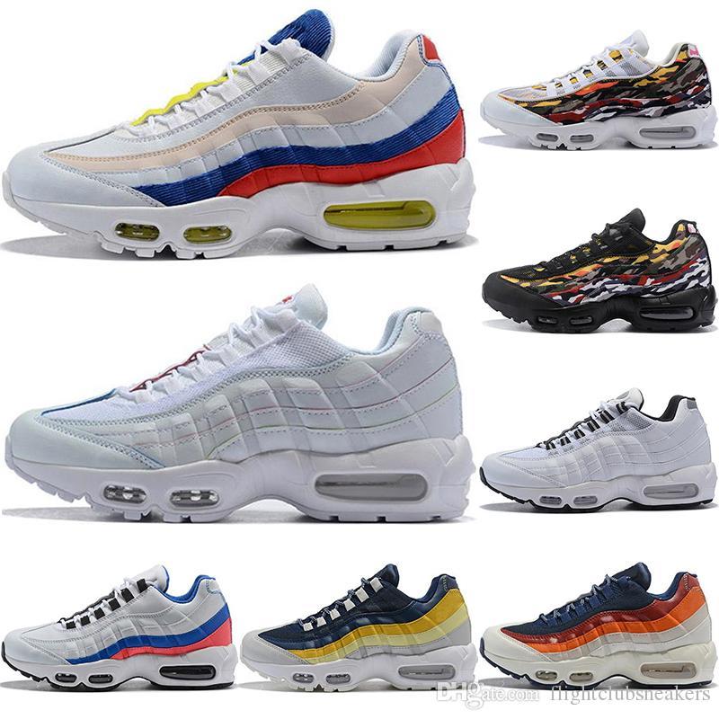 95 Designer Men Running Shoes Pull Tab Black Brown White Slate Blue ... 703140132