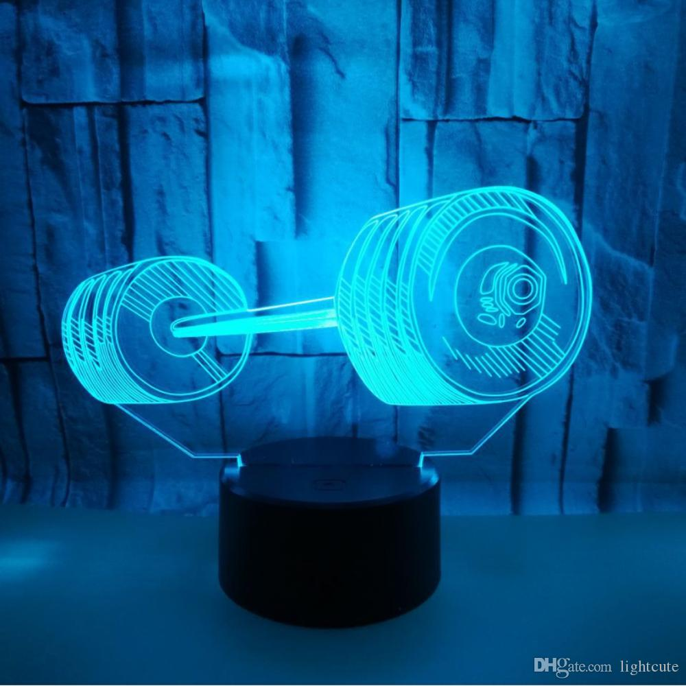 Weightlifting Lights 3d Led Ful Usb Lava Night With 2019 Lamp rdCsthQ