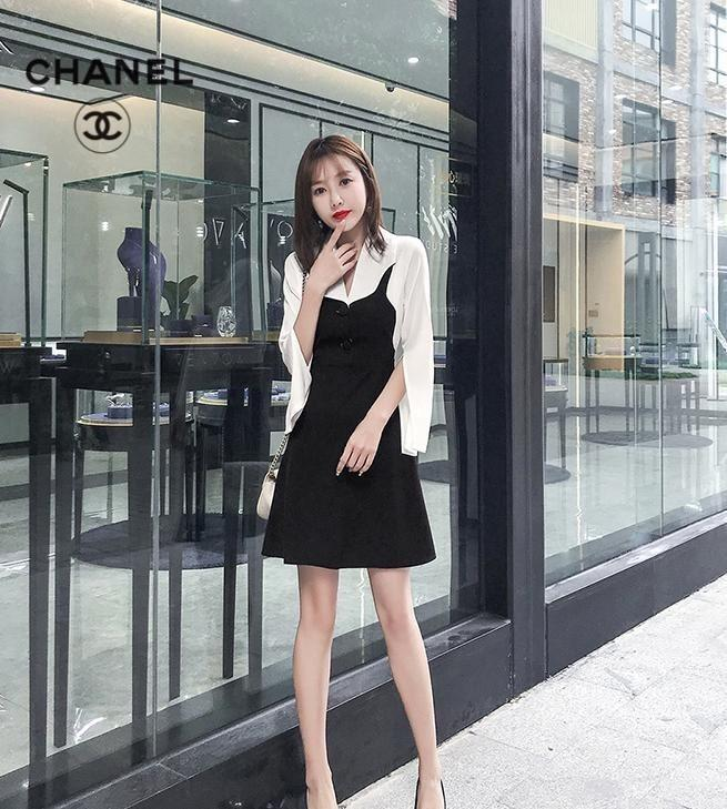 7edd2dc5369e4 Spring and Autumn 2019 New Tight Dresses High Quality Fashion Women's  Dresses Delicate and Comfortable Skirts l8