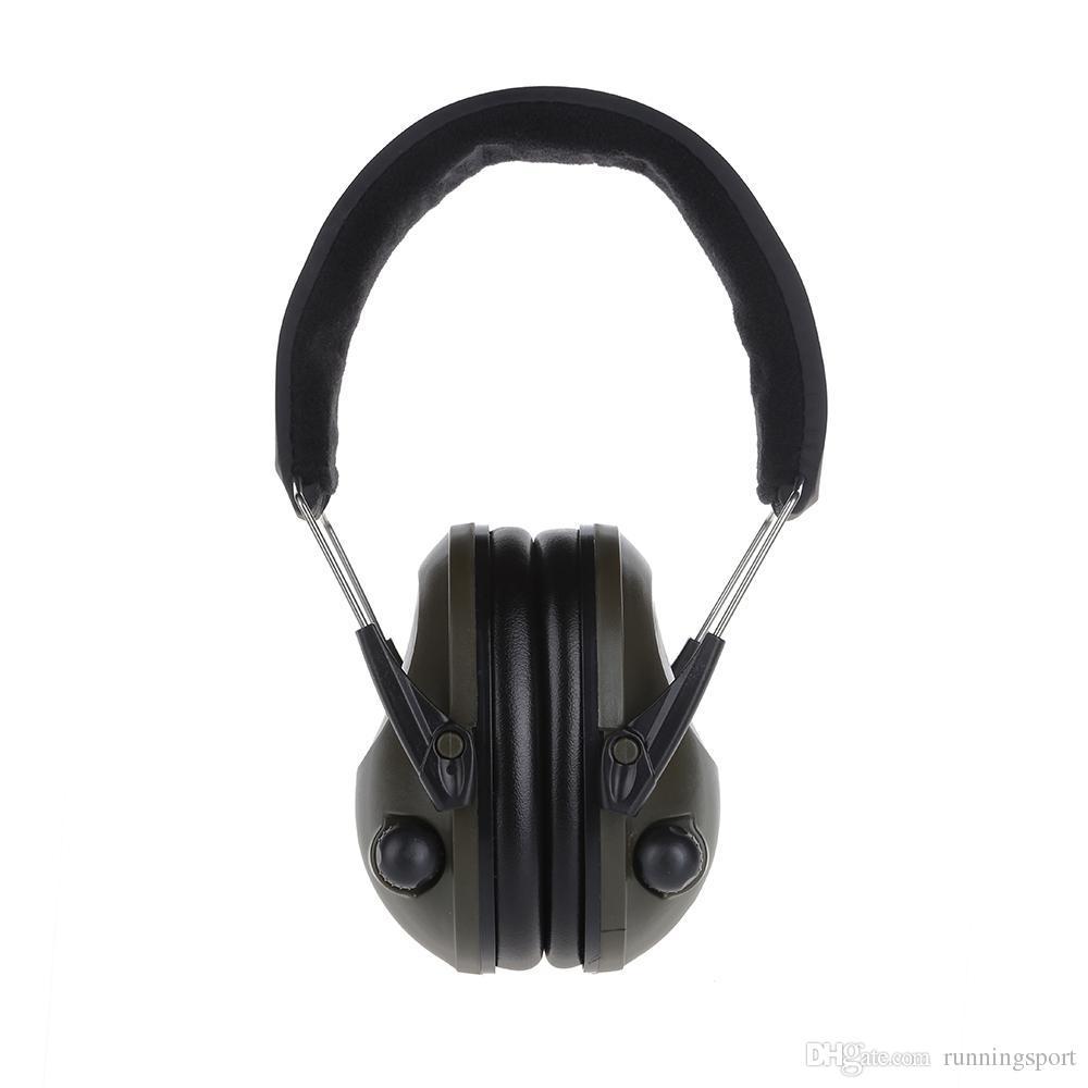 312e8d05704de Compre Proteção Auditiva Eletrônico Earmuffs Redução De Ruído Caça Fones De  Ouvido Tático Headset Para Tiro Protetor De Ouvido Muffs De Orelha VB De ...