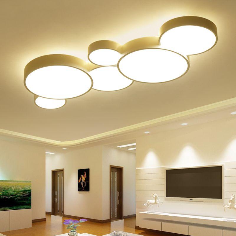 Großhandel LED Deckenleuchte Moderne Panel Lampe Beleuchtung Lampen ...