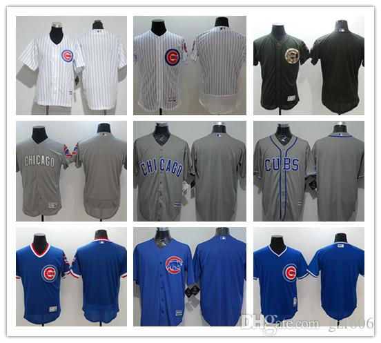 the latest 24741 0df2f custom Men s women youth Majestic Chicago Cubs Jersey Personalized Name and  Number Home Blue Grey White Kids Girls Baseball Jerseys