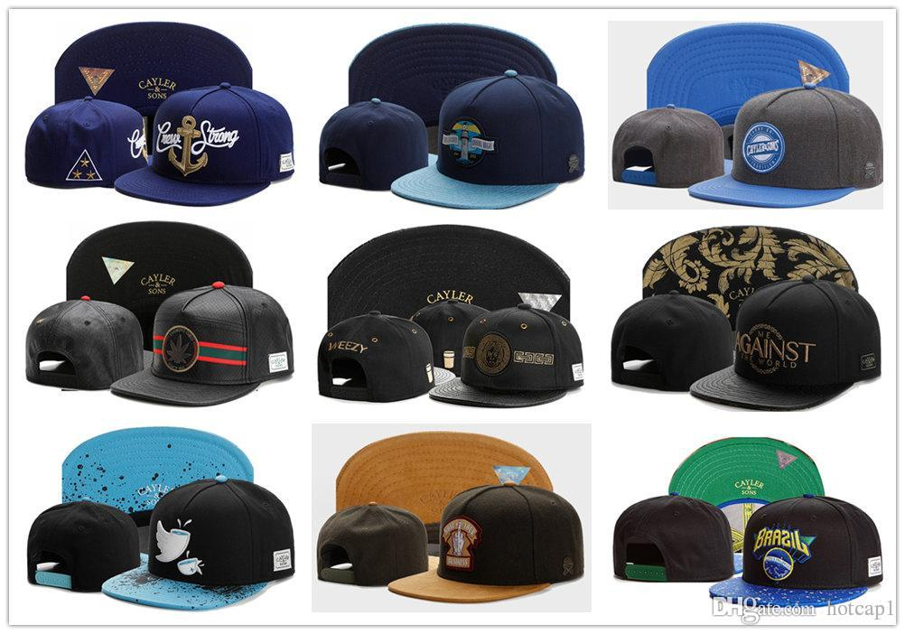 Newest Top Quality C S Fashion Snapbacks Hip Hop Caps CAYLER   SON New  Snapback Caps Men Snapback Cap Cayler And Sons Snapbacks Sports Hat Cheap  Hats ... 06534704345