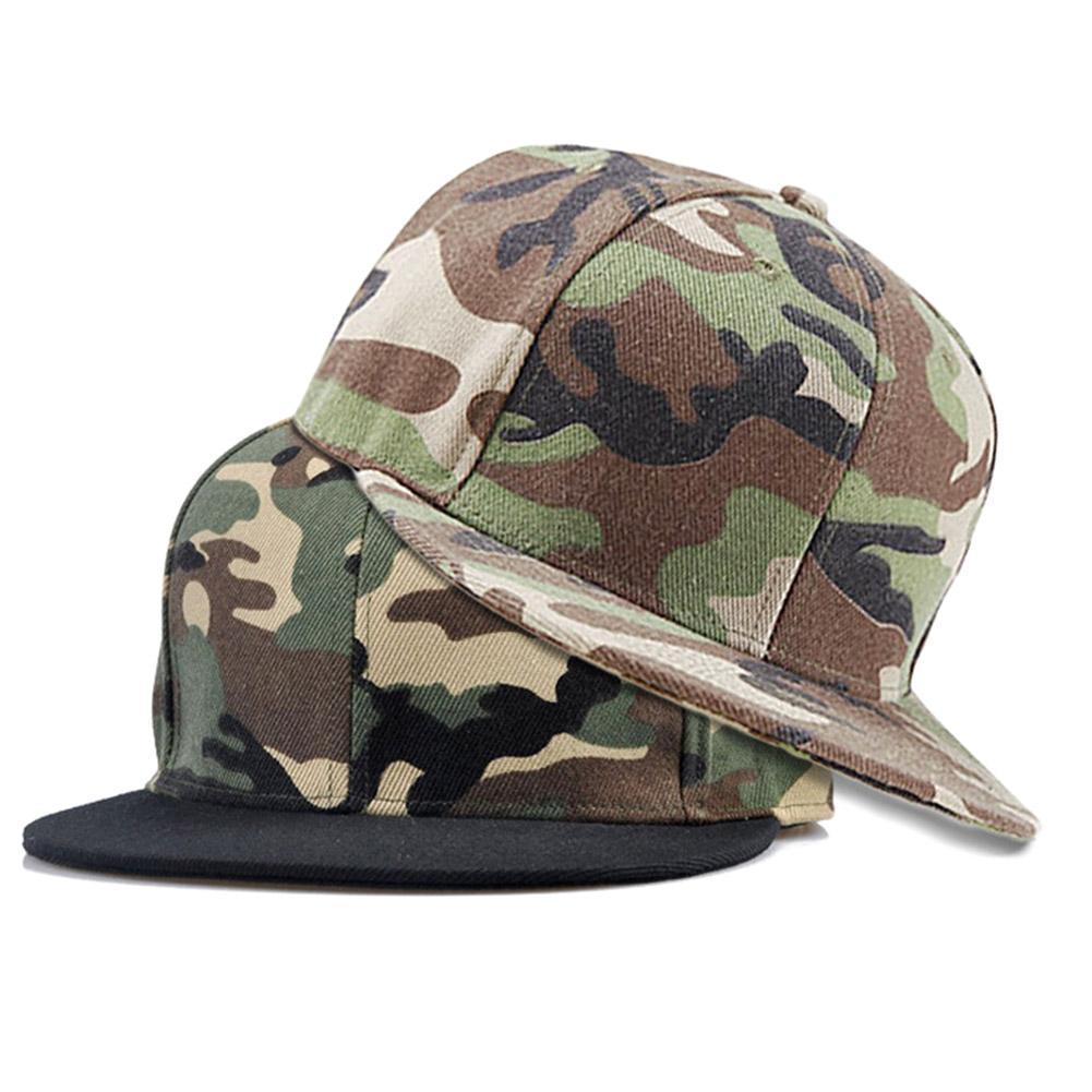 415ffd19b964c Acheter Camouflage Snapback Polyester Réglable Casquette De Baseball Camo  Blanc Plat Sans Broderie Hommes Et Chapeau Pour Hommes Et Femmes De $24.54  Du ...