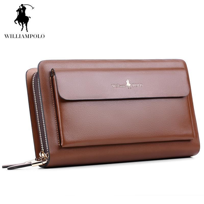 e271ba75686fa WilliamPOLO Brand Fashion High Quality Designer Wallet Business Coin Pocket  Phone Case Wallet Luxury Wallet Men POLO162 Wallets Wallets For Women From  ...