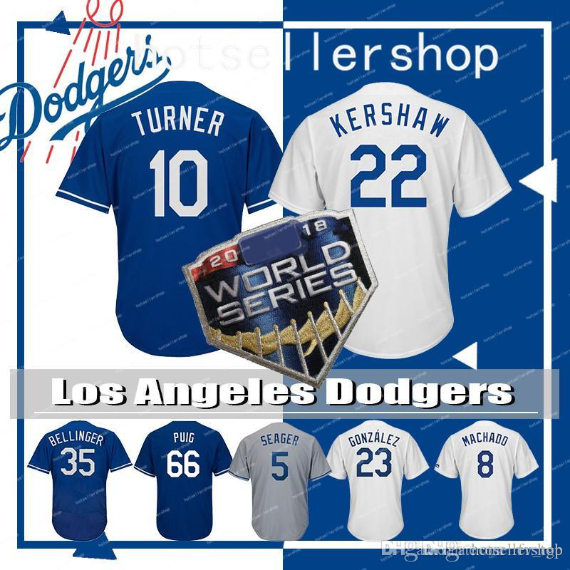 c9ddb70d8 22 Clayton Kershaw Los Angeles Dodgers Mens 35 Cody Bellinger ...