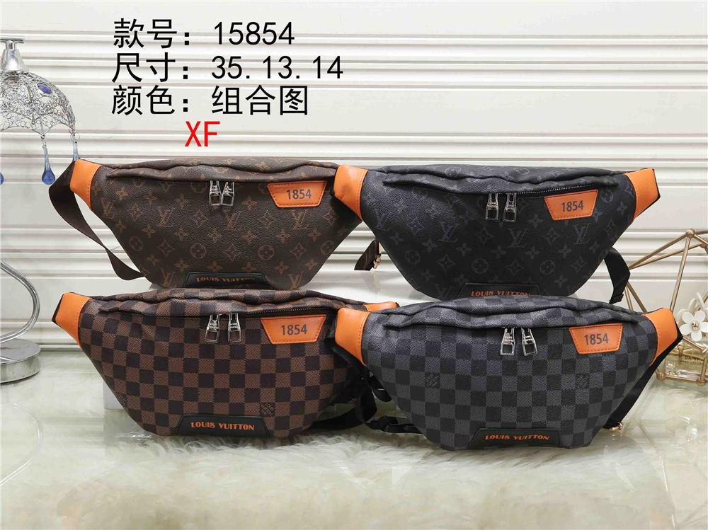 Mens Waist Bag Luxury Fanny Pack With Letter Printed Flower And Square New Fashion PU Fannypack For Women Outdoor B104439X