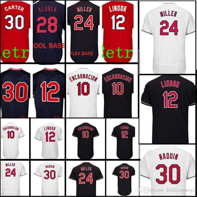 san francisco f30ca f3963 Custom Any Cleveland Baseball Jerseys Men 10 Edwin Encarnacion 30 Joe  Carter Jersey Men stitched Baseball Jerseys Cheap
