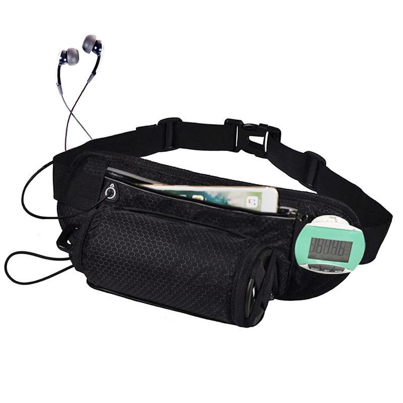 Running Sport Waist Packs Bag With Water Bottle Holder Women Men Reflective  Travel Fanny Pack Waist Pouch Bum Bags Summer Handbags Satchel Bags For  Women ... b9f7cadb7