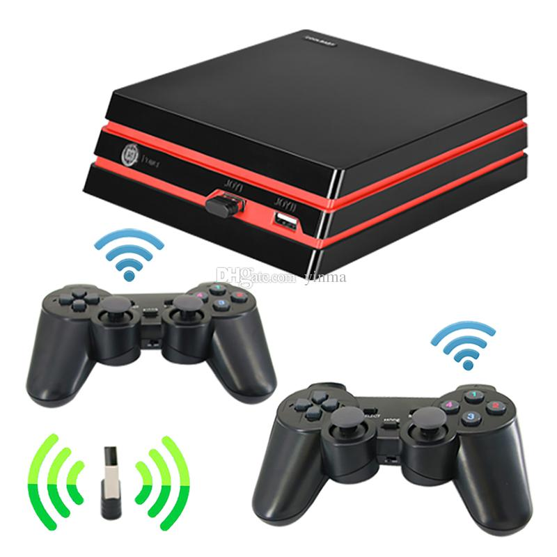6dcaab8bf2bc 2019 Coolbaby 4K HDMI TV Video Game Console 64 Bit 600 Games HD AV Retro  Classic Game Console Support SD Card With 2.4G Wireless Controllers From  Yinma