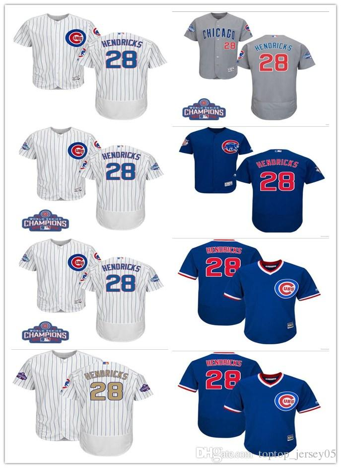 2018 Can Chicago Cubs Jerseys  28 Kyle Hendricks Jerseys Men WOMEN YOUTH Men s  Baseball Jersey Majestic Stitched Professional Sportswear Online with ... 2687f9491