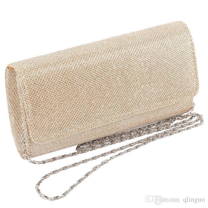 014db1203ad7 ГОРЯЧАЯ женская вечерняя сумка на плечо свадебный клатч выпускного вечера  свадебная сумочка 4 цвета