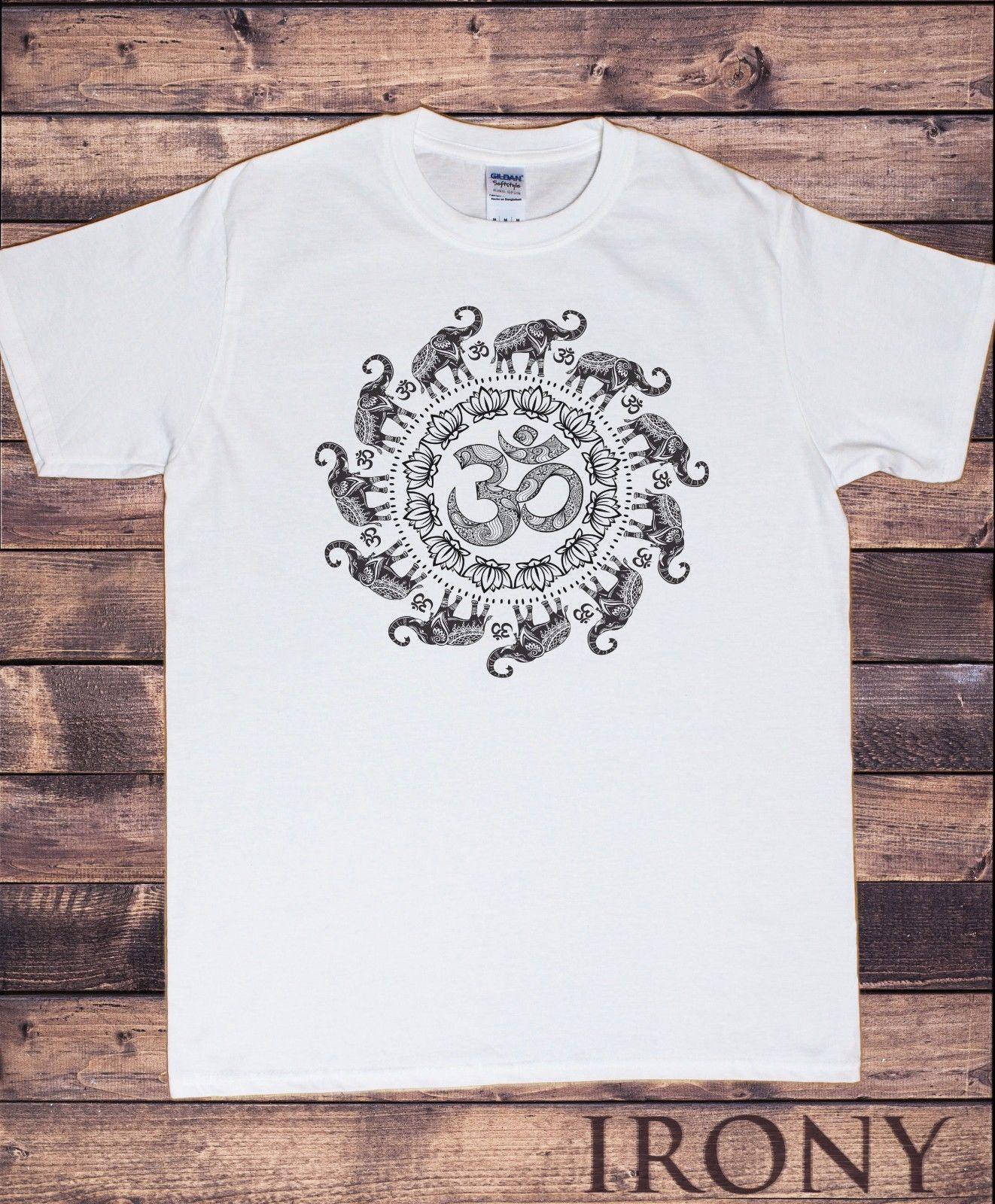 détaillant en ligne 81d2b 7a073 Acheter T Shirt Pour Homme OM Motif Fleuri Spirale D ...