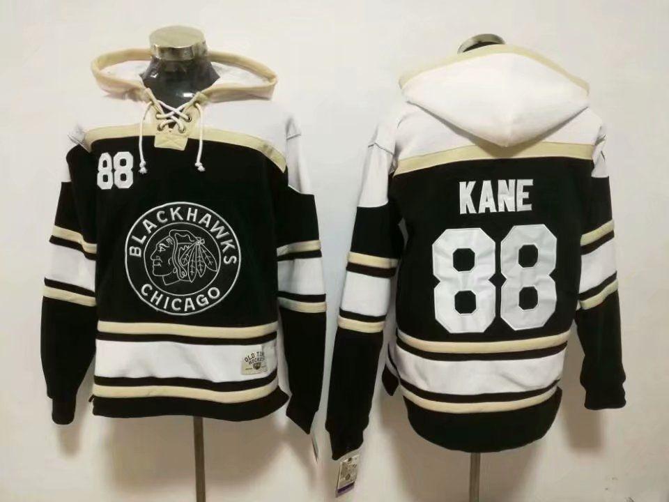 3964d00fd New Blackhawks Hoodies Jerseys  19 Toews  88 Kane Hockey Lace Jersey ...