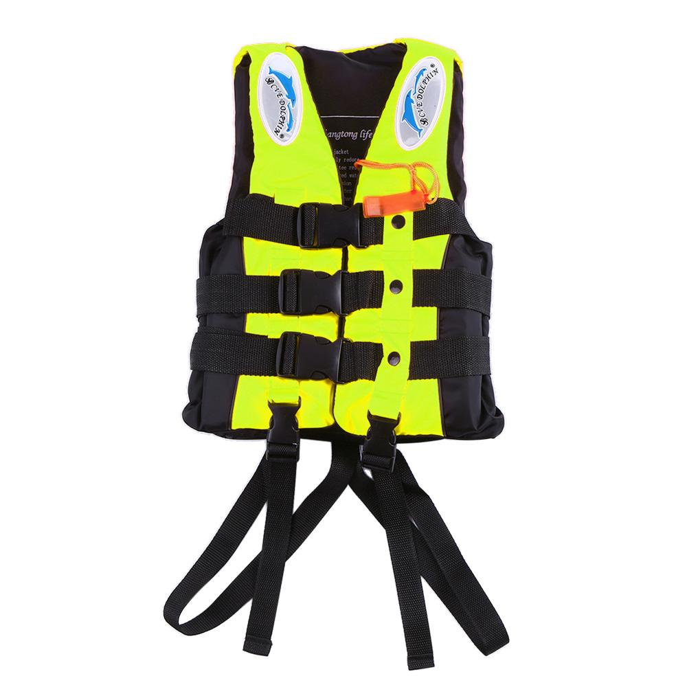 Child Life Vest Aid Jacket Whistle Swimming Life Jacket For Drifting Boating Survival Safety Water Sport Wear