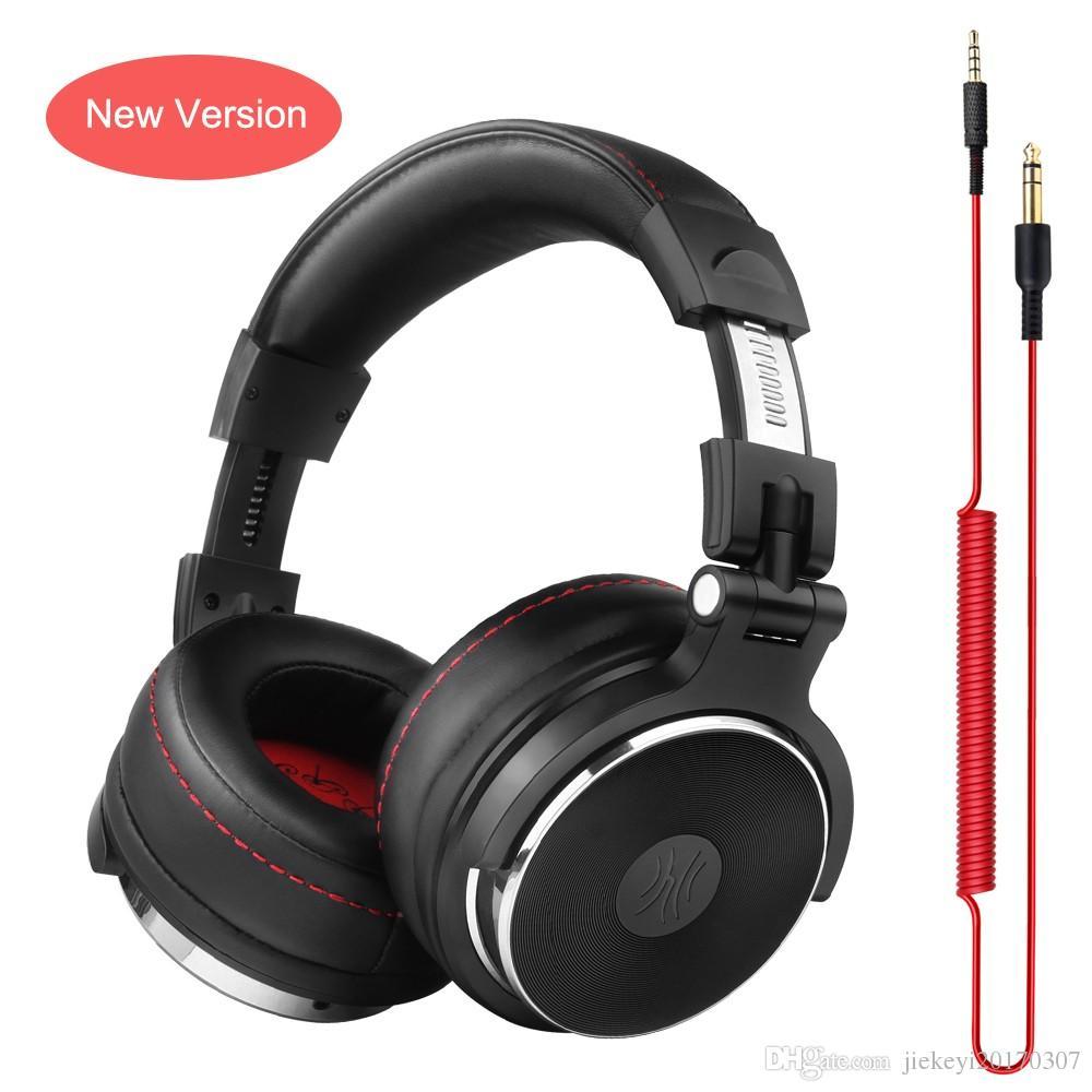 1bebf99323e Oneodio Wired Headphones Studio Professional DJ Headphone With Microphone  Over Ear Monitor Studio Headphones DJ Stereo Headsets Wireless Bluetooth  Earbuds ...