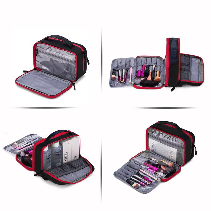 5ccf4e0548bc Cosmetic BAGSMART Large Capacity Toiletry S Waterproof Makeup Nylon Travel  Cosmetic Bag Makeup Organizer Wash Bag Buy Bags Online Bags Online Shopping  From ...