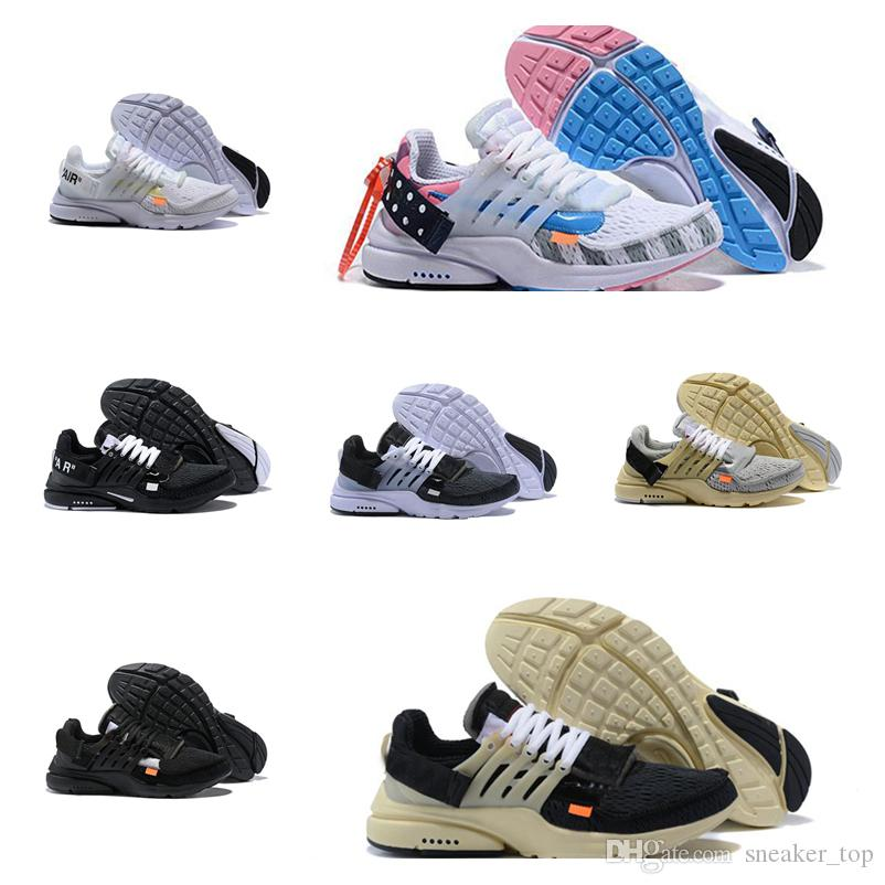 save off 5a505 42621 Presto THE TEN V2 Ultra BR TP QS 2.0 Running Shoes Black White Men Women  Athletic Shoes designer sneakers Size US5.5-12