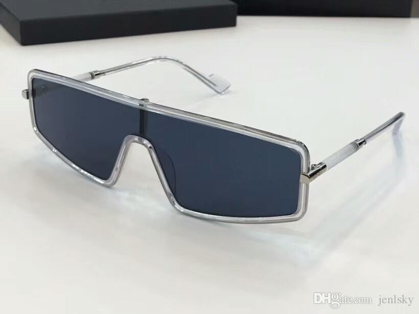 01c78a3a7b Cool Crystal Rectangle Sunglasses Grey Shaded Sun Glasses Luxury ...