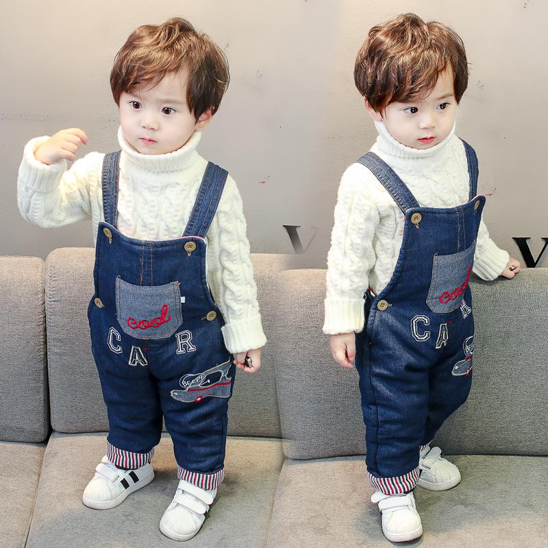 256743c72 New style cotton trousers for children baby boys and girls suspender  trousers and cotton trousers for children