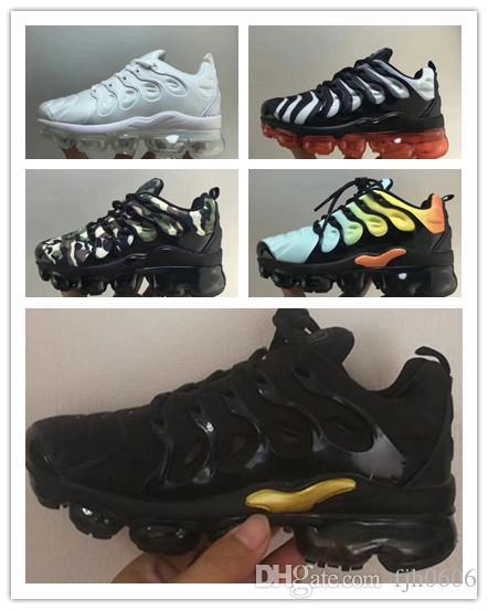 nike TN plus air max airmax Enfants Plus Tn Enfants Parent Enfant Casual Chaussures Pour Bébé Garçon Fille Styliste De Mode Sneakers Courir En Plein