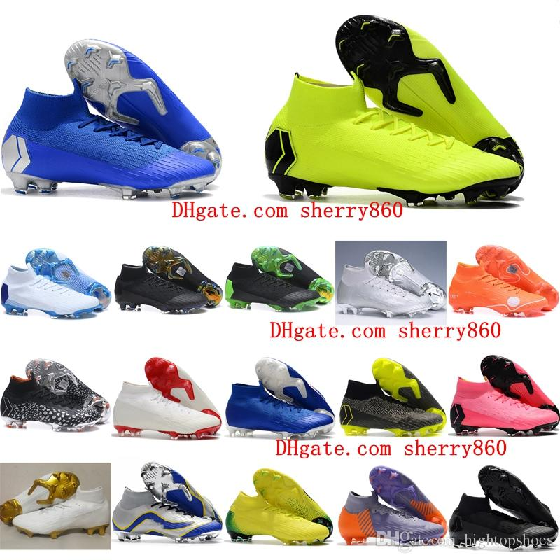 6823e8edb 2018 Mens Soccer Shoes Mercurial Superfly VI 360 Elite Neymar ...