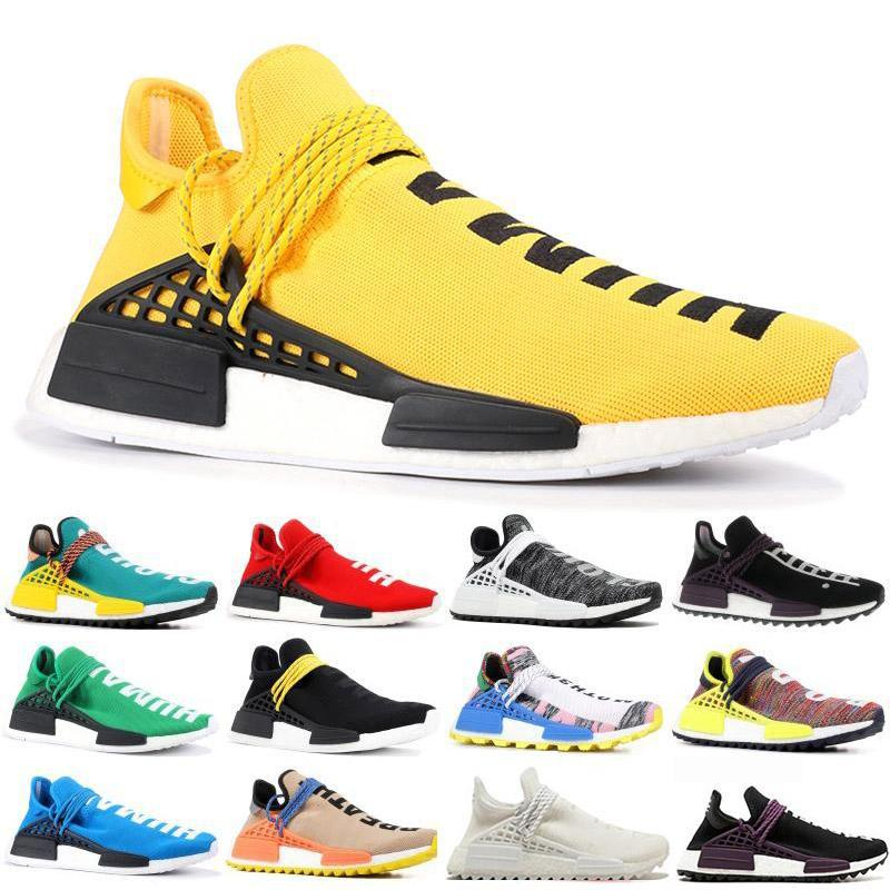 Neue Human Race TR Herren Laufschuhe Pharrell Williams Human Race Pharell Williams Mode Luxus Herren Damen Designer Sandalen Schuhe
