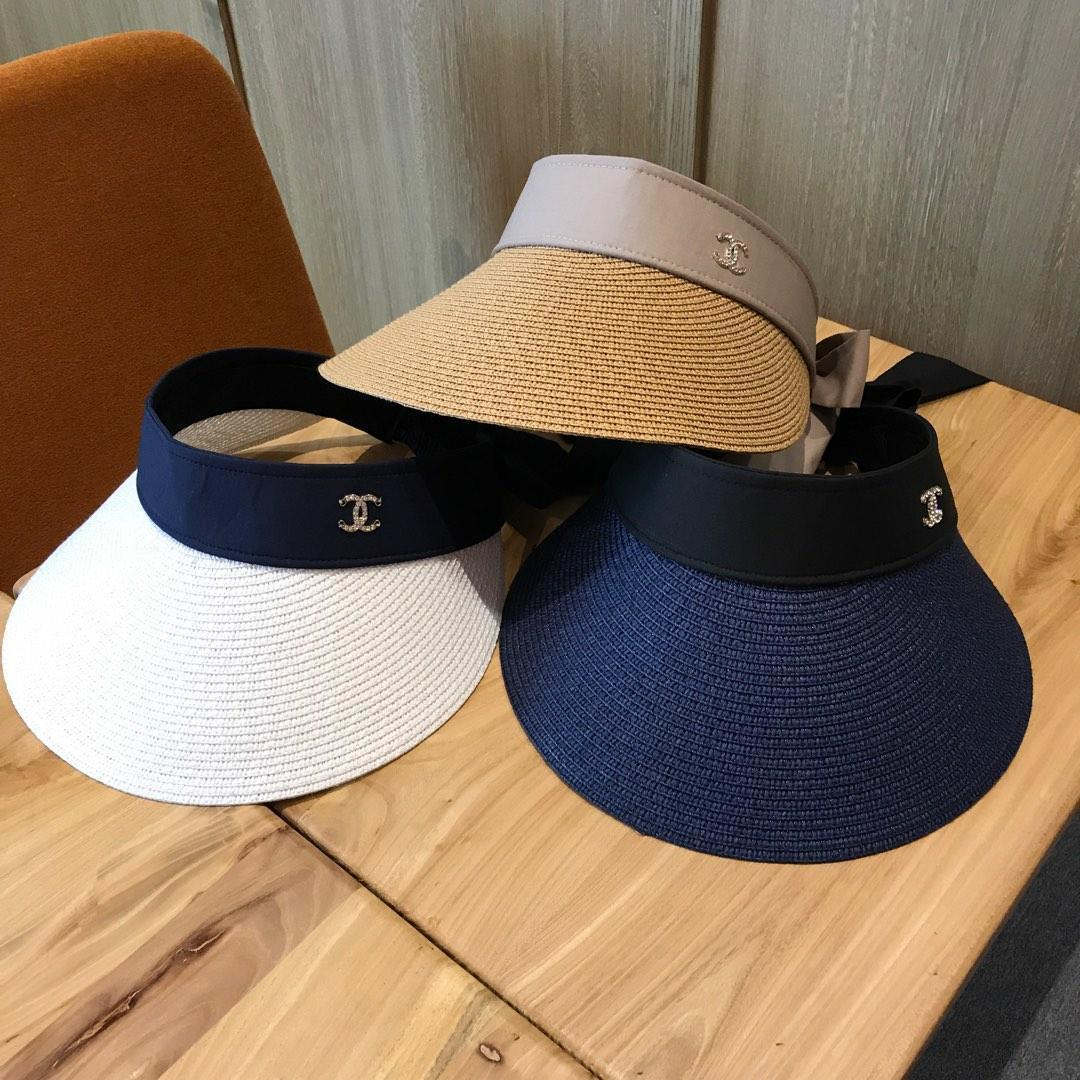 2dcbc0574 Outdoor men Visor Sun Hat Female Sunscreen Summer Sports Tennis Cap Fashion  Lady Travel Beach Empty Top Hat Gci-7