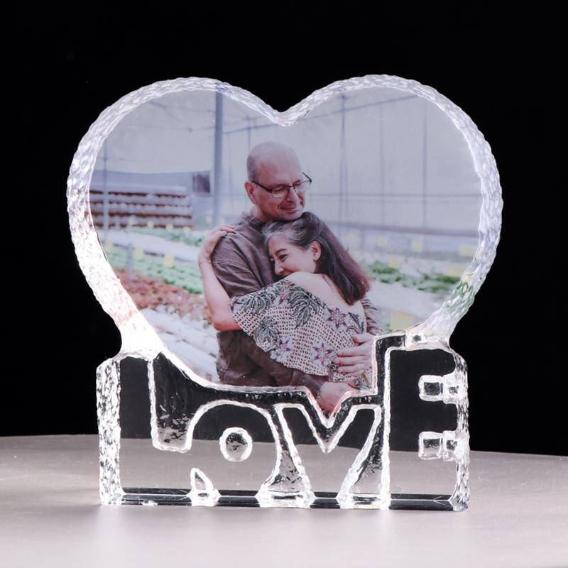 2019 Customized Love Heart Crystal Photo Frame Personalized Picture Frame Wedding Gift For Guests Birthday Souvenir Valentineu0027S Day From Shutie ...  sc 1 st  DHgate.com & 2019 Customized Love Heart Crystal Photo Frame Personalized Picture ...