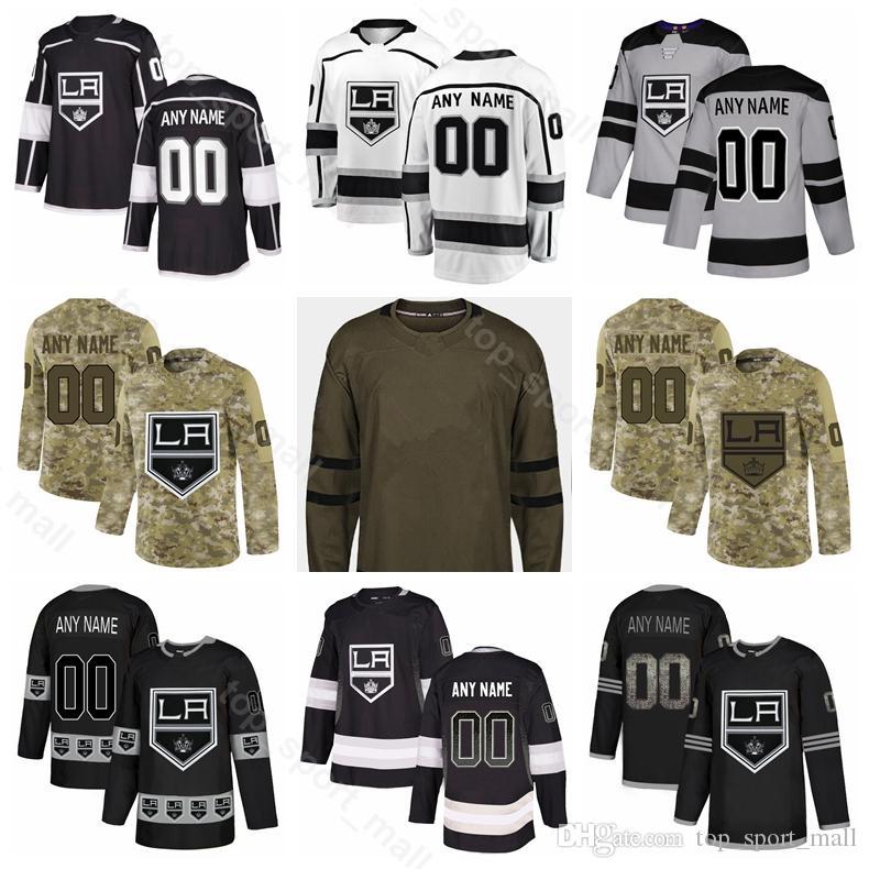 uk availability 671fe ef717 LA Kings Los Angeles Hockey 73 Tyler Toffoli Jersey Adrian Kempe Austin  Wagner Alec Martinez Jonathan Quick Fashion Gradient Custom Name