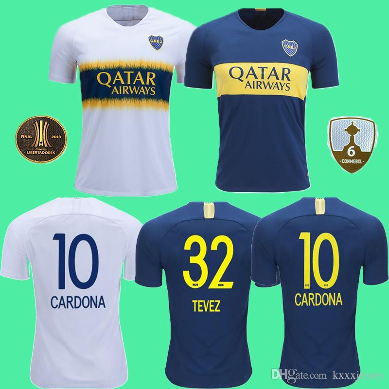 more photos b7f8d acf89 18 19 Boca Juniors soccer jersey top thailand 2018 copa Libertadores GAGO  TEVEZ CARDONA ALIBA football shirt PAVON camiseta de futbol