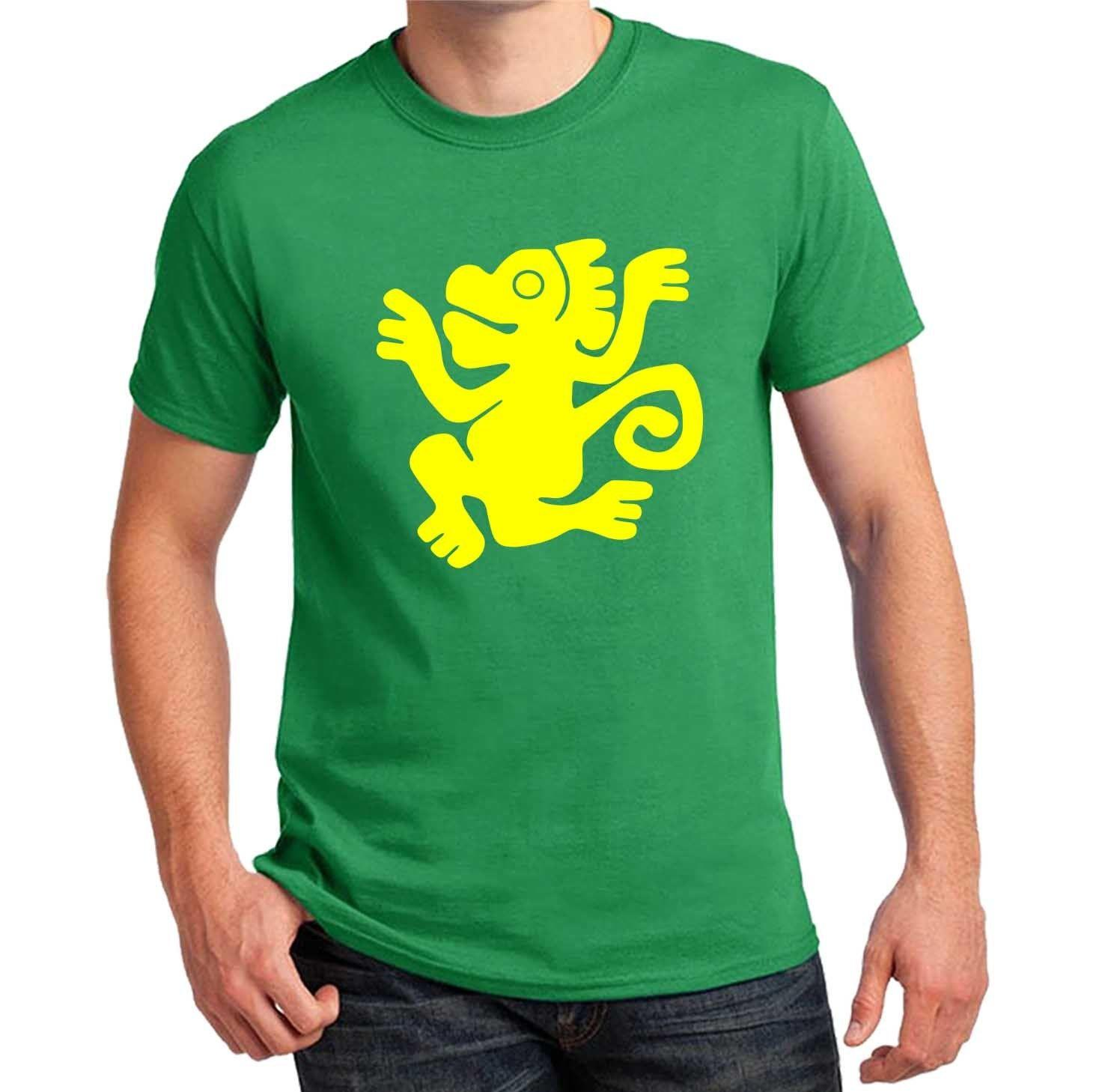 Legends of Hidden Temple Team T-shirts Green Monkeys Halloween Costume cosplay Funny free shipping Unisex Casual