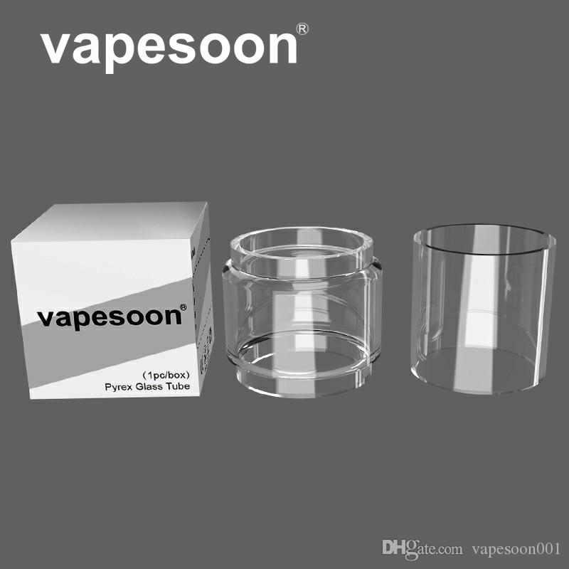 Authentic VapeSoon Replacement Glass Tube For Wotofo Profile Unity RTA  3 5ML/5ML TANK Normal /Bubble Glass Tube DHL Free