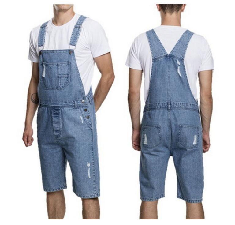 2570acd8f93 2019 Fashion Mens Denim Overalls Jumpsuit Casual New Male Stylish Designer  Jeans Jumpsuits Bib Bike Pants For Men From Clothingsupreme