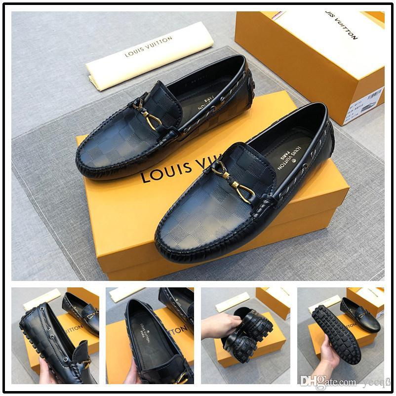 Best Turkey Brand 2020 2020 Designers Brand Top Leather Canvas Shoes Fashion Loafers Men