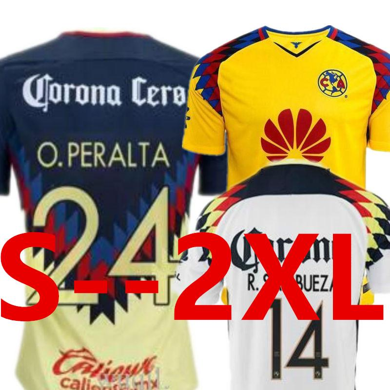 848341e6252 2019 LIGA MX Club America Aguilas Soccer Jersey Mexican League Mexico 17 18  Camisetas De Futbol SAMBUEZA Oribe PERALTA Thai Football Shirt 2018 From  Forxmas ...