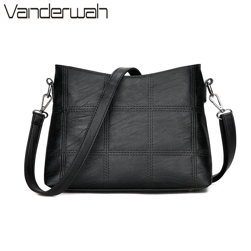 New Plaid Stitching Luxury Handbags Women Bags Designer Crossbody Bags For Women Messenger Bags Shoulder Bag Female Sac A Main