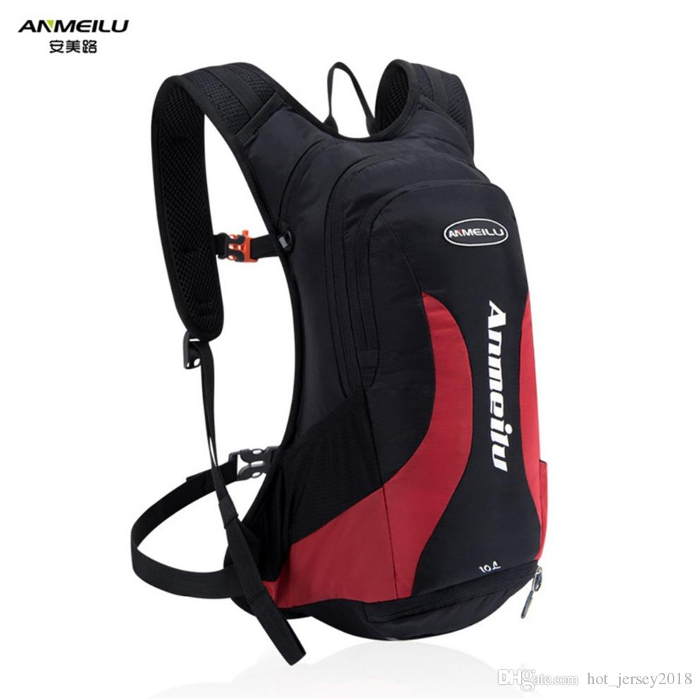 b5cc490865 2019 ANMEILU Outdoor Waterproof Lightweight Backpack Hydration Bladder  Cycling Running Marathon Camping Sports Bag 10L Unisex Pack  303400 From ...