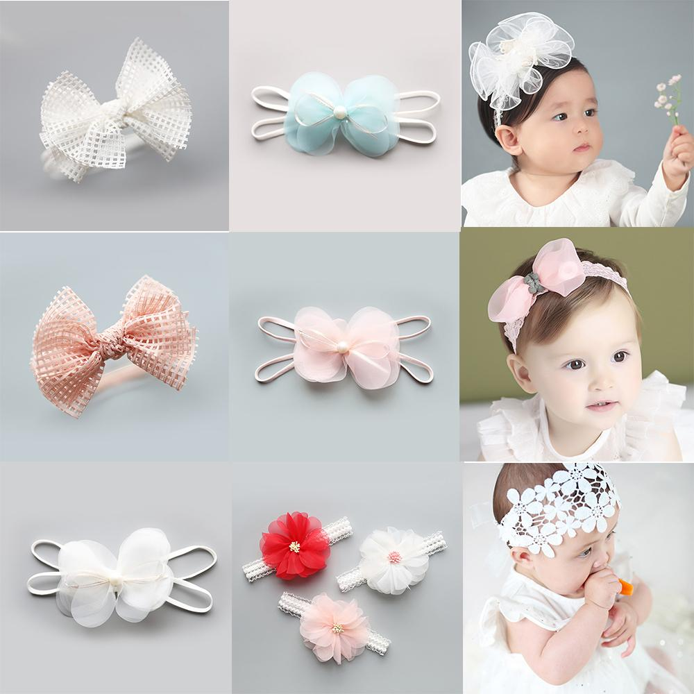 Cute Flower Kids Baby Girl Toddler Headband Hair Band Headwear Accessories 2019 New Fashion Style Online Baby & Toddler Clothing