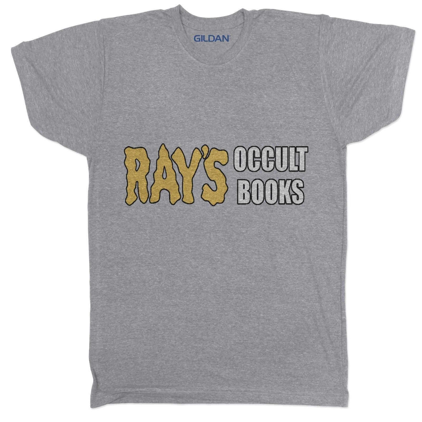Ghostbusters Inspired Rays Occult Books 80s 90s Film Movie Cult Horror T  ShirtFunny free shipping Unisex Casual Tshirt