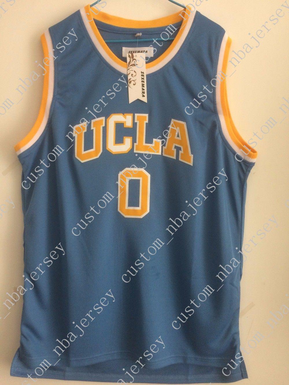 premium selection 9c448 02c16 Billige kundenspezifische Westbrook-Trikot # 0 Ucla Basketball-Trikots  Retro genäht Fertigen Sie jede mögliche Namenanzahl ...