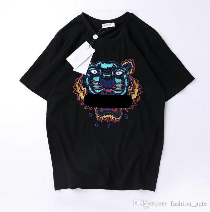 e26dca8c21b2 K Brand Tiger T Shirt Mens Summer Luxury Designer Clothing Short ...