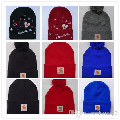 875167902c2 Wholesale Winter Tide Brand Vetements Gosha Rubchinskiy Noah BOX LOGO Men  Knitted Hat Pom Pom Skull Caps Hip Hop Beanies Slouchy Beanie Skull Cap  From ...
